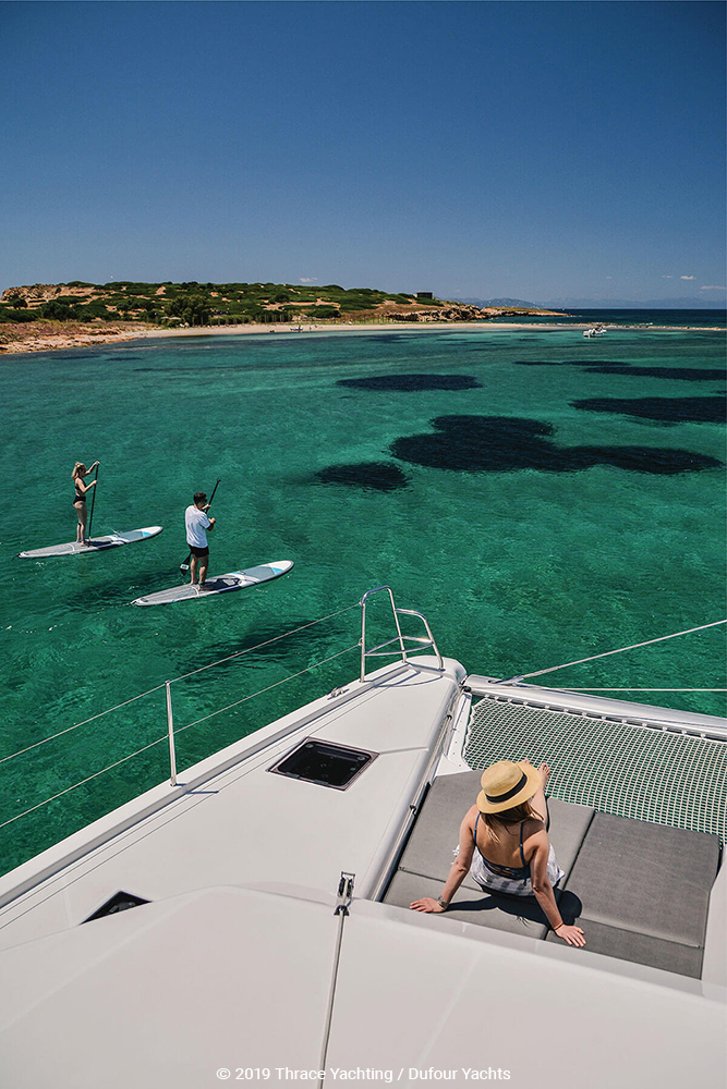 Dufour Catamaran 48  relaxation 4